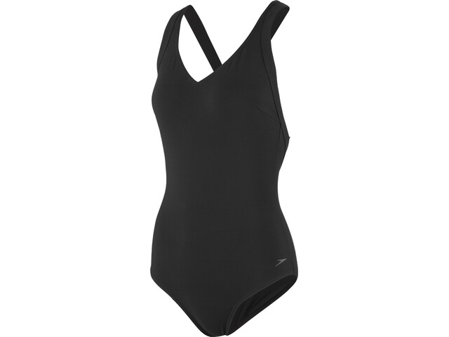 speedo Opalweb Swimsuit Women, black (2019) | swim_clothes